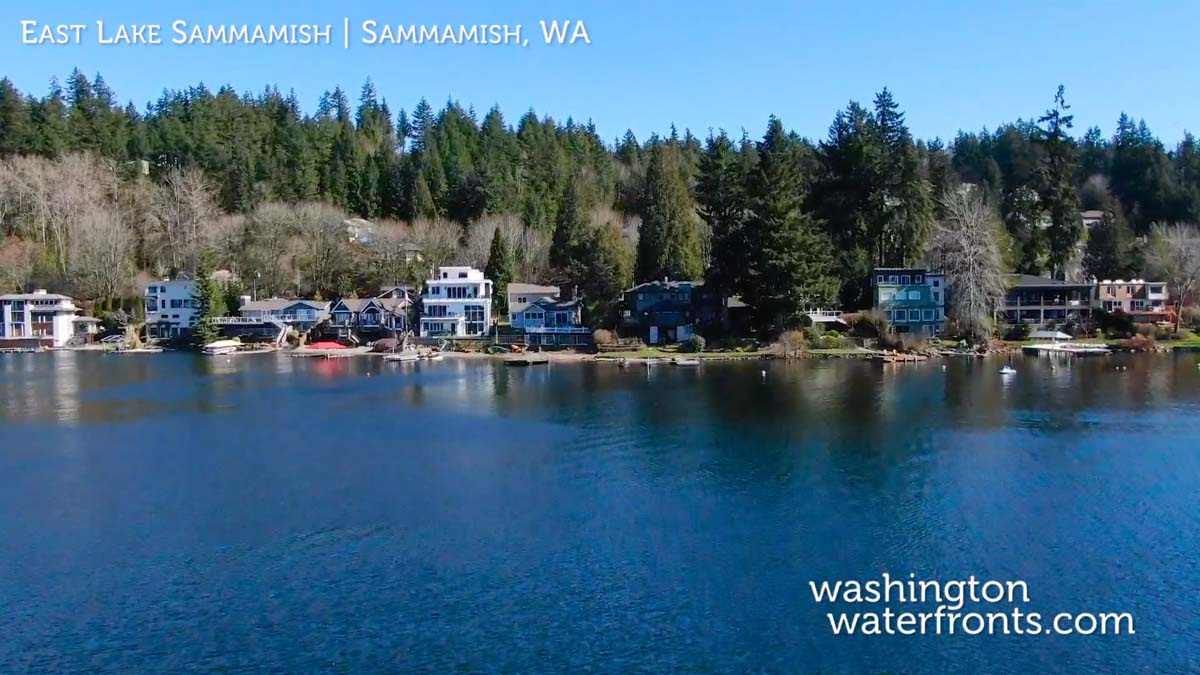 East Lake Sammamish Waterfront Real Estate