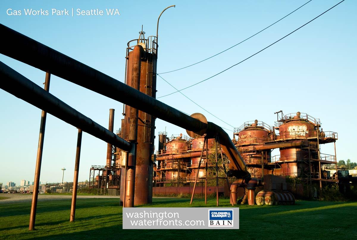 Gas Works Park in Seattle, WA