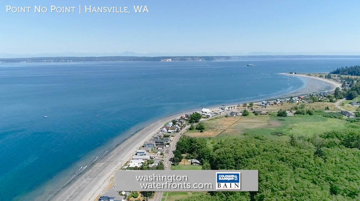 Hansville Waterfront Real Estate in Hansville, WA
