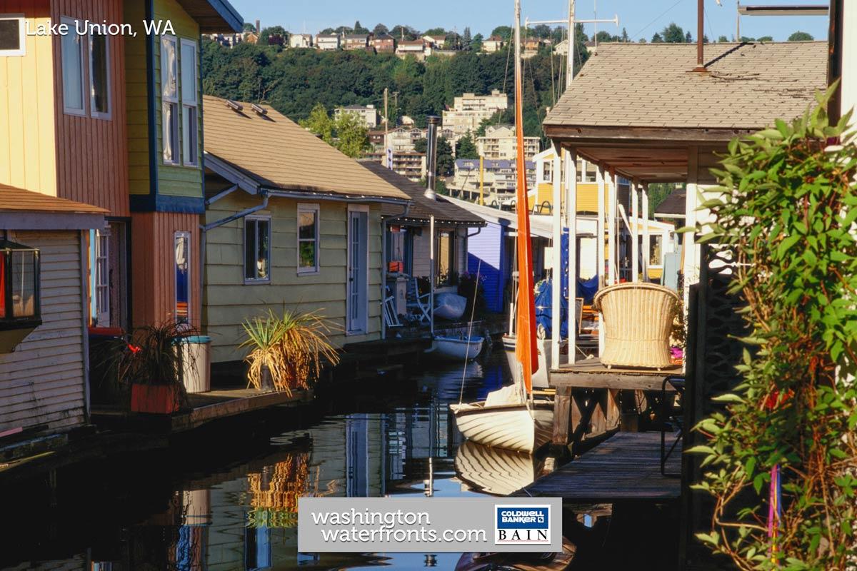 Lake Union Waterfront Real Estate in Seattle, WA