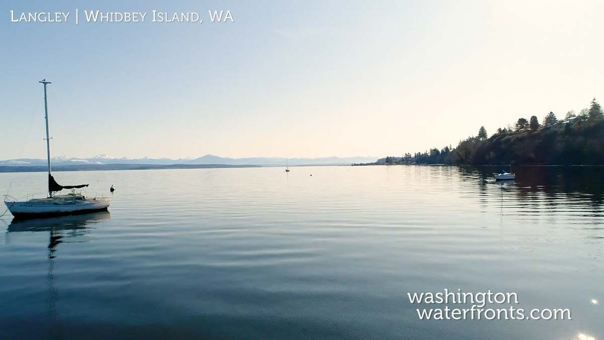 Langley Waterfront Real Estate in Whidbey Island, WA