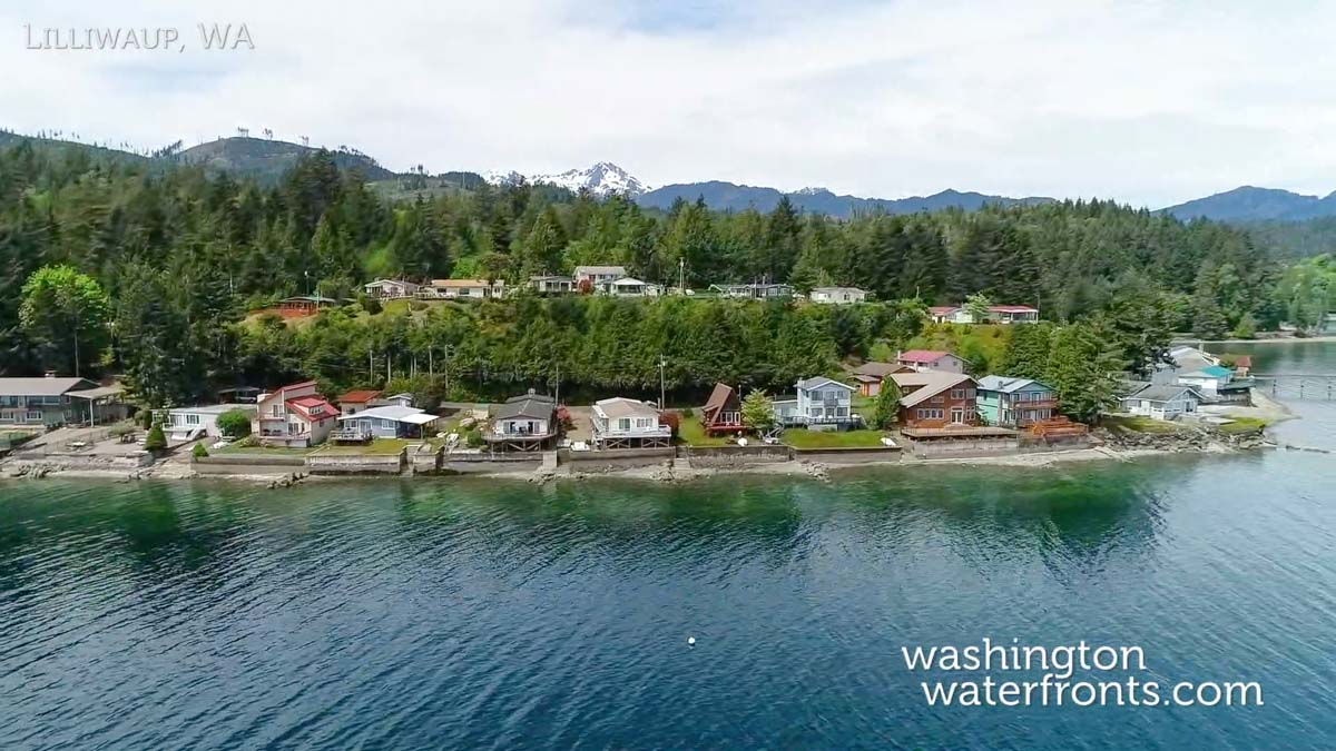 Lilliwaup Waterfront Real Estate in Lilliwaup, WA