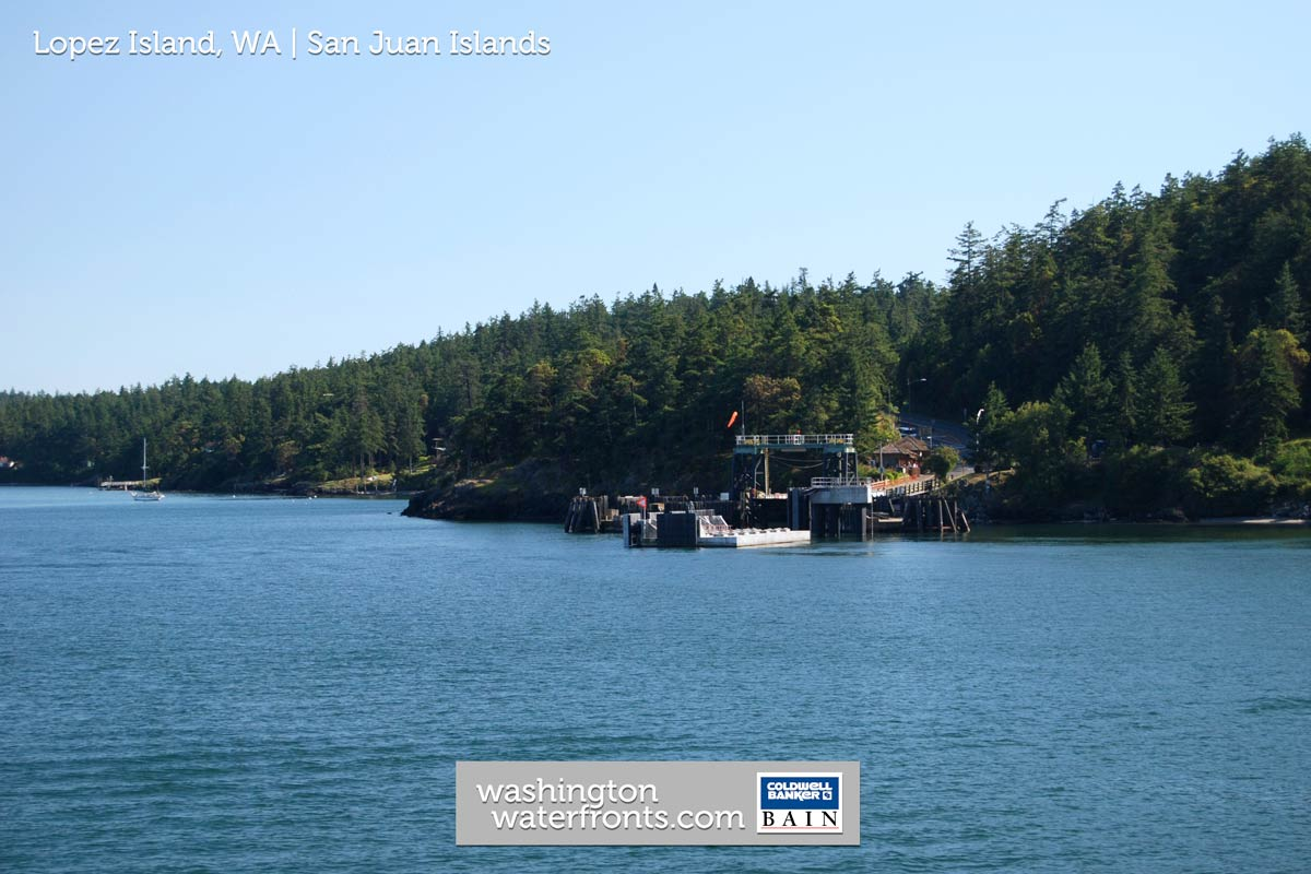 Lopez Island Waterfront Real Estate