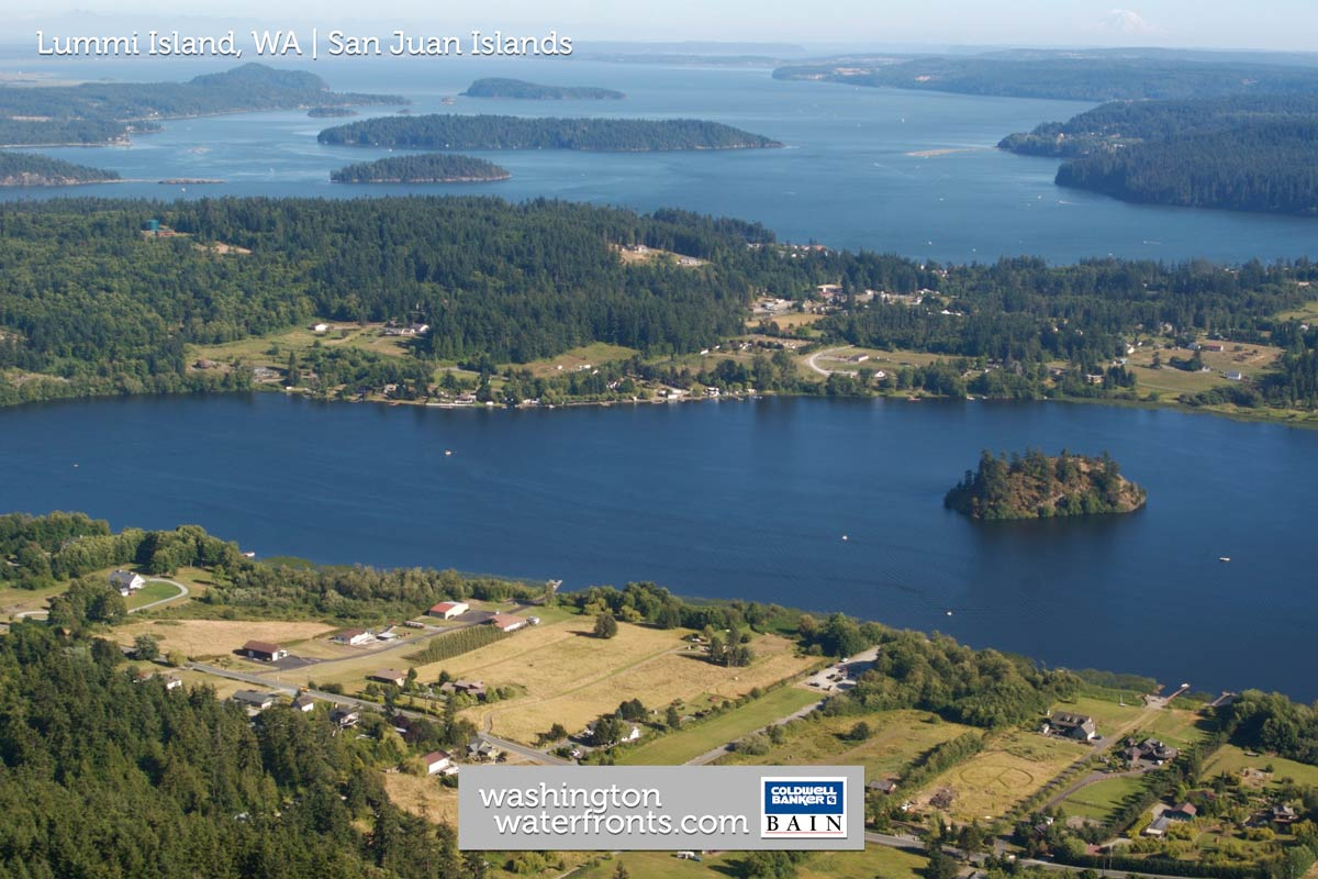 Lummi Island Waterfront Real Estate