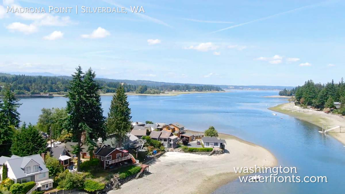 Madrona Point Waterfront Real Estate