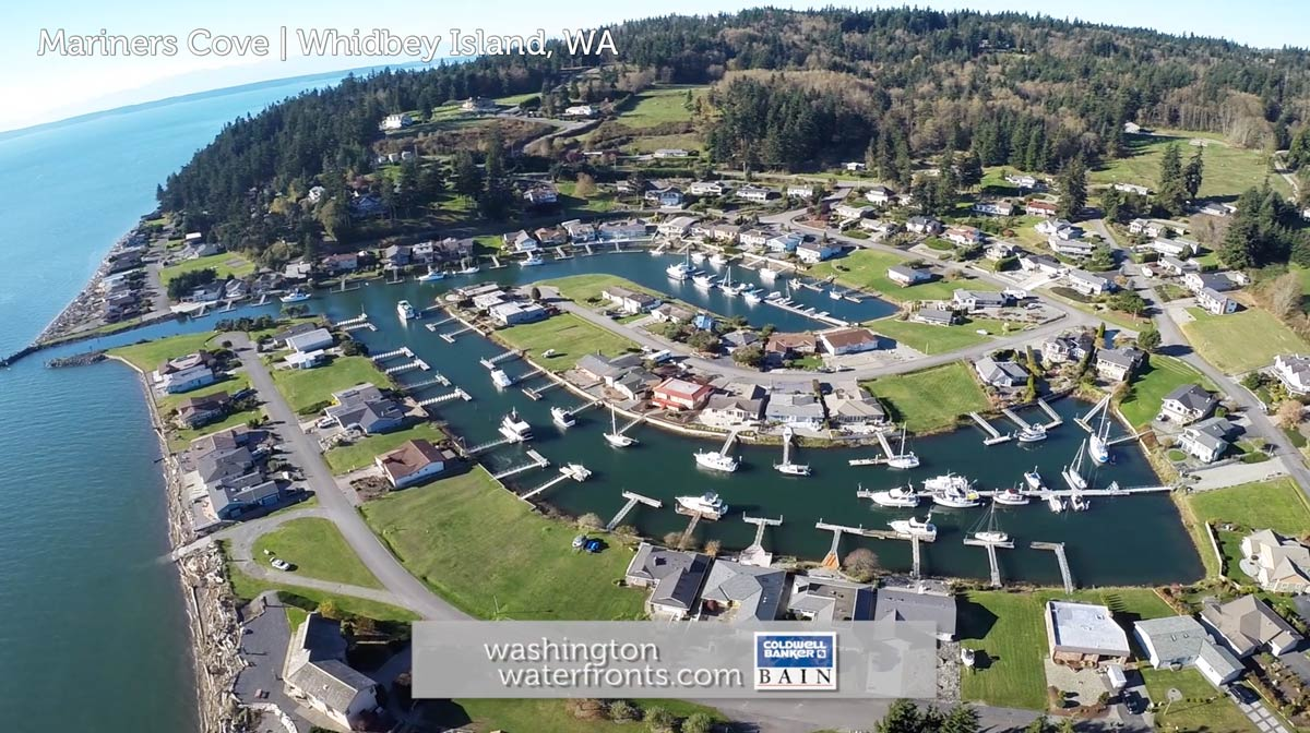 Mariners Cove Waterfront Real Estate on Whidbey Island, WA