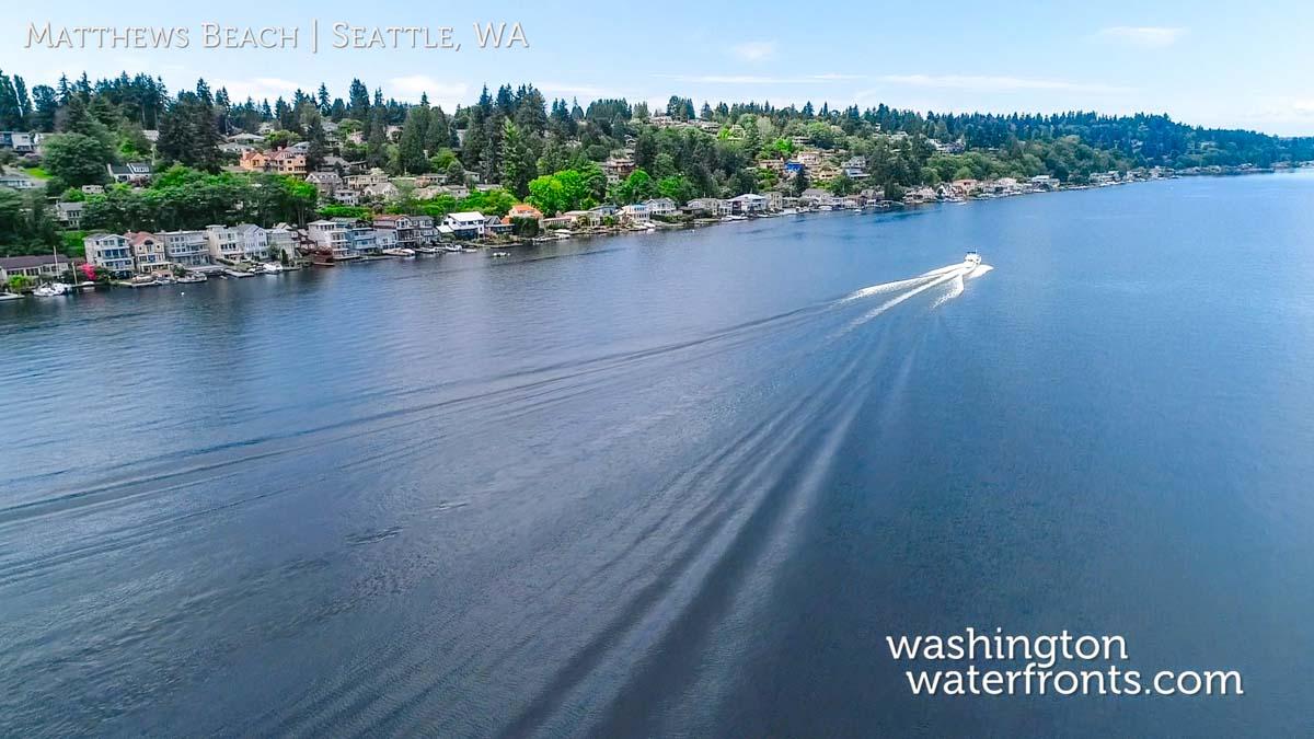 Matthews Beach Waterfront Real Estate in Seattle, WA