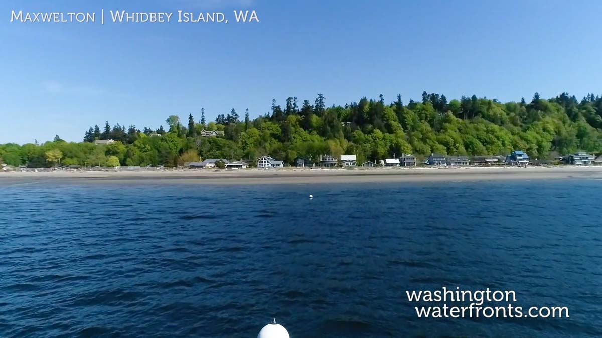 Maxwelton Waterfront Real Estate in Whidbey Island, WA
