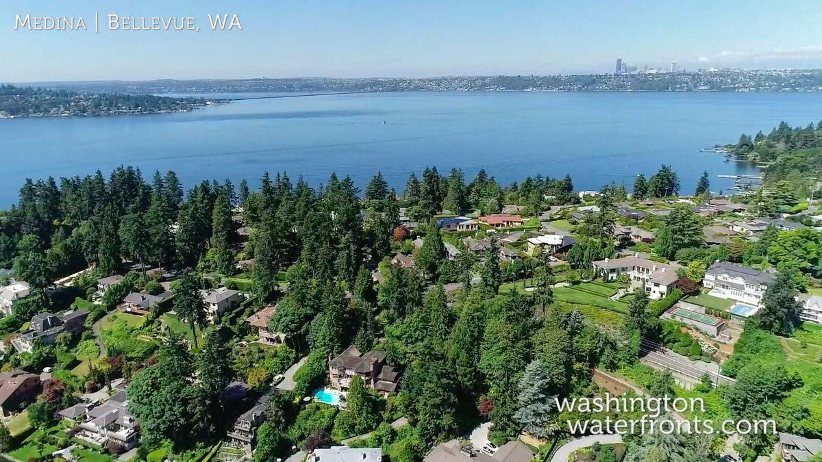 Medina Waterfront Real Estate in Bellevue, WA