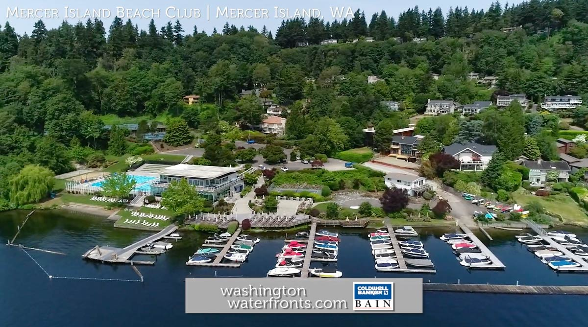 Mercer Island Beach Club Waterfront Real Estate in Mercer Island, WA