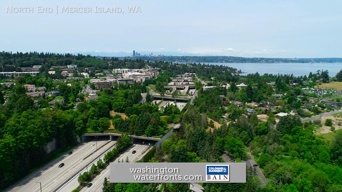 Mercer Island Waterfront Real Estate in Mercer Island, WA
