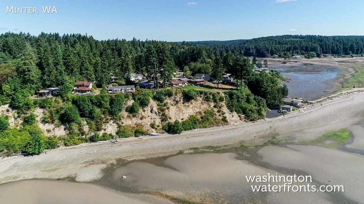 Minter Waterfront Real Estate in Gig Harbor, WA