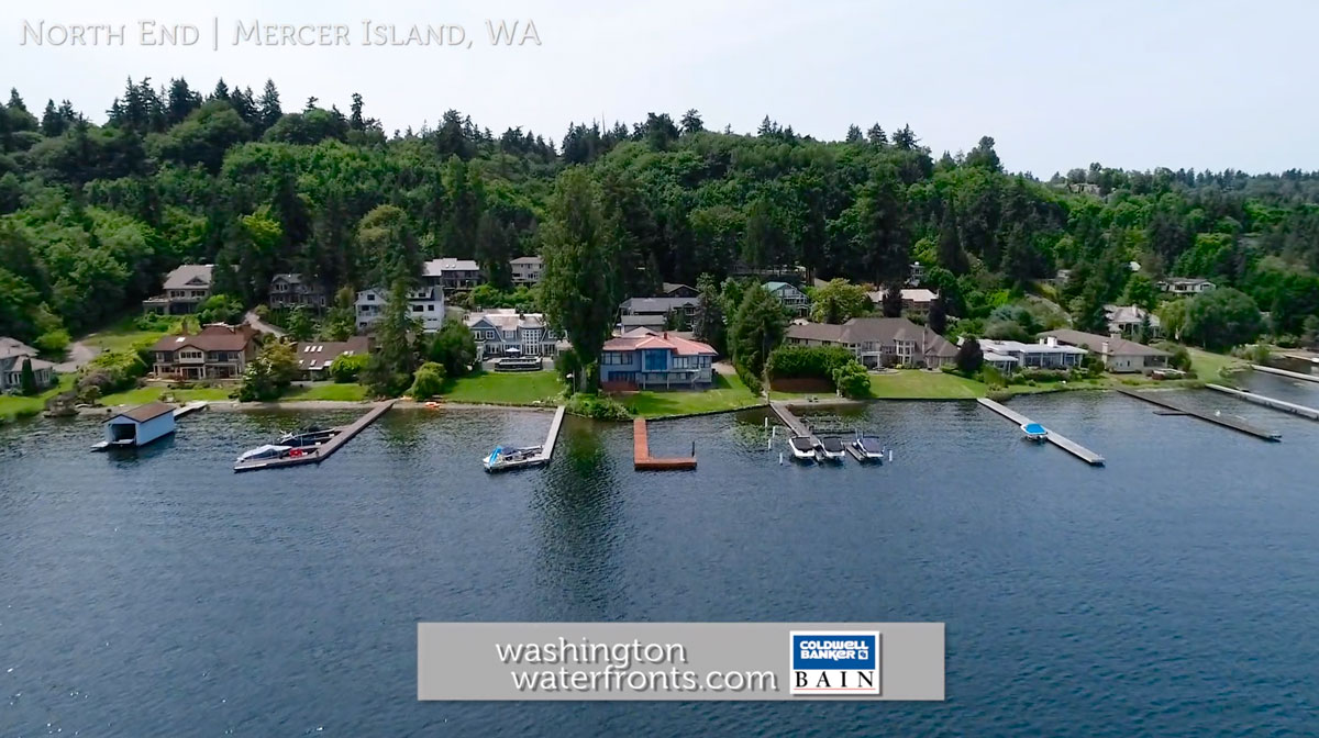 North End Waterfront Real Estate on Mercer Island, WA