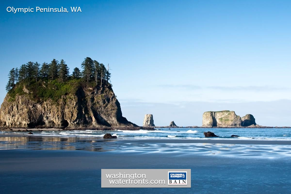 Olympic Peninsula Waterfront Property For Sale