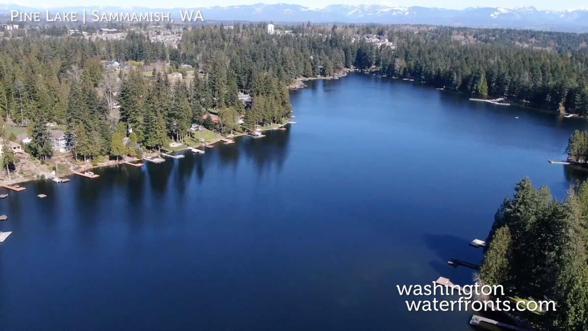 Pine Lake Waterfront Real Estate