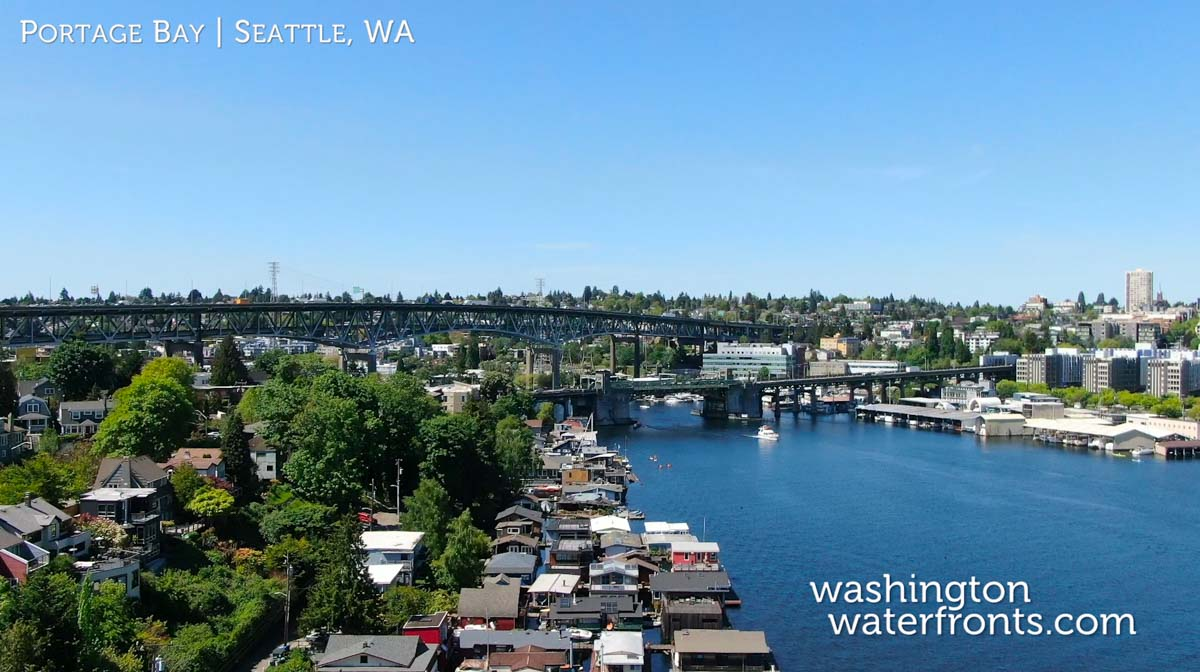 Portage Bay Waterfront Real Estate