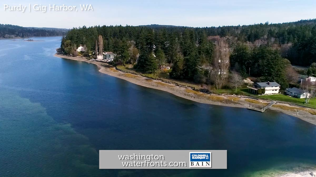 Purdy Waterfront Real Estate in Gig Harbor, WA