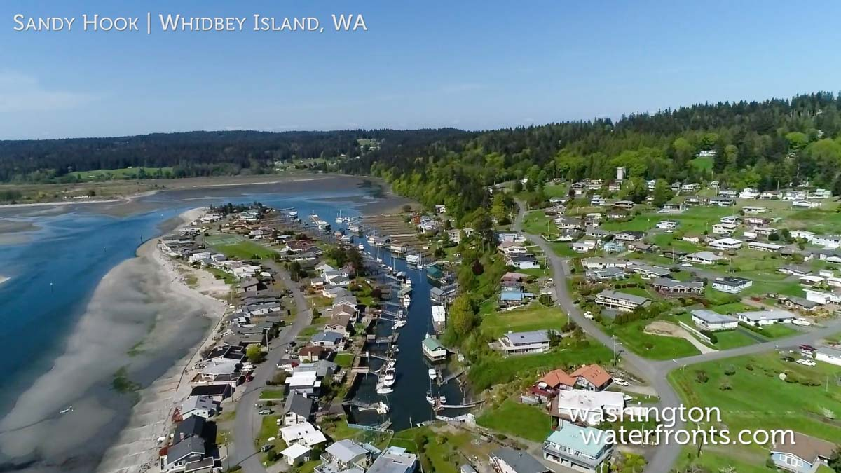 Sandy Hook Waterfront Real Estate in Whidbey Island, WA