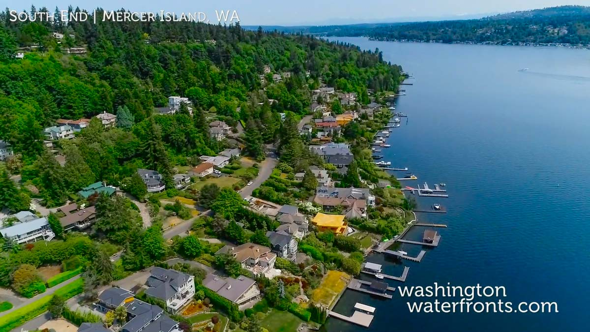 South End Waterfront Real Estate in Mercer Island, WA