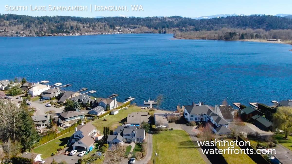 South Lake Sammamish Waterfront Real Estate