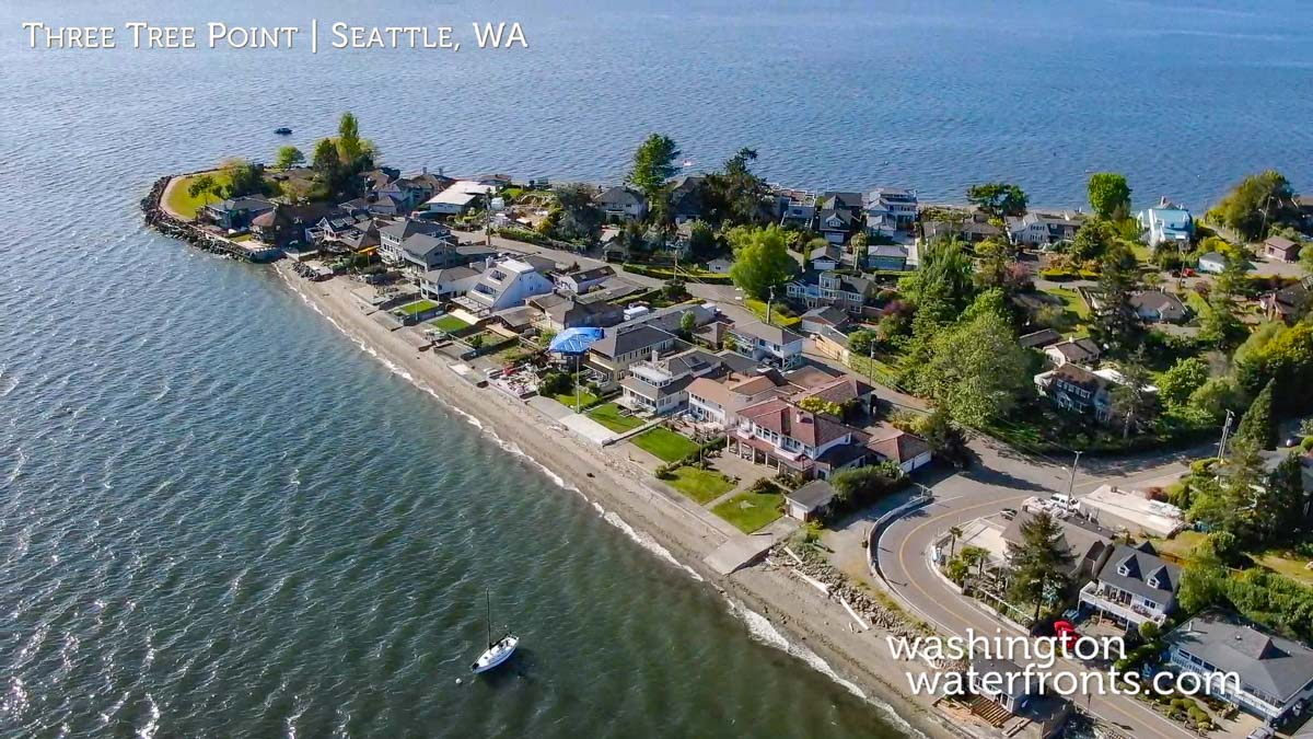 Three Tree Point Waterfront Real Estate