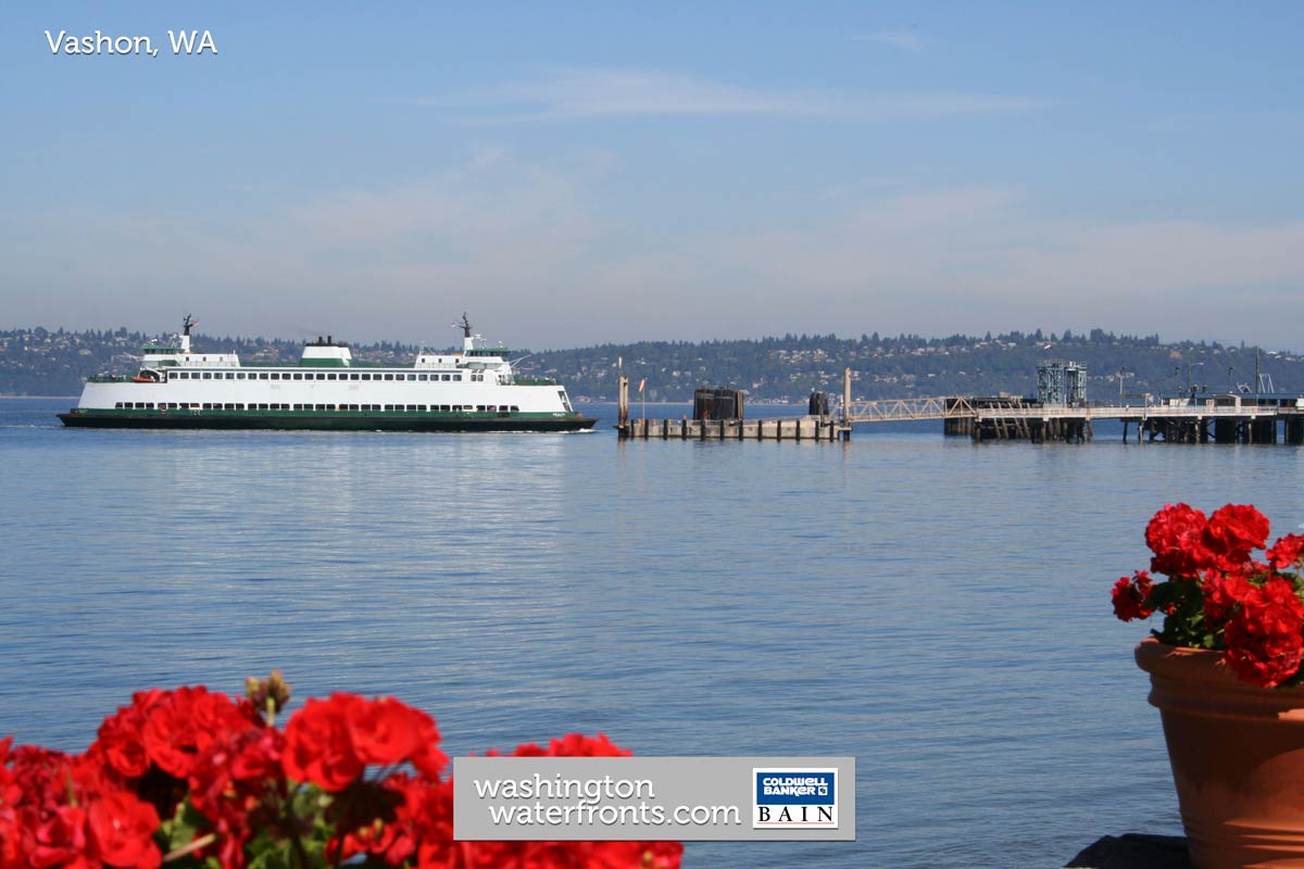 Vashon Waterfront Real Estate