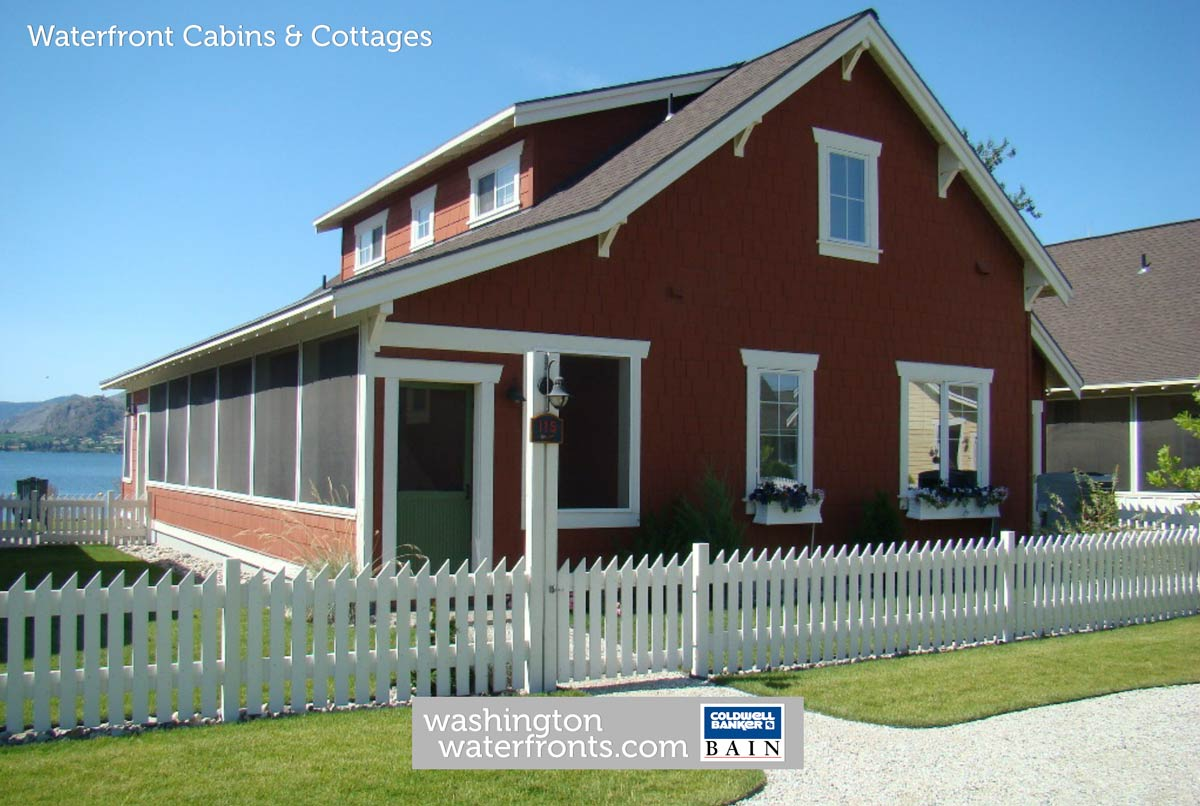 Washington State Waterfront Cabins And Cottages Wa Waterfronts