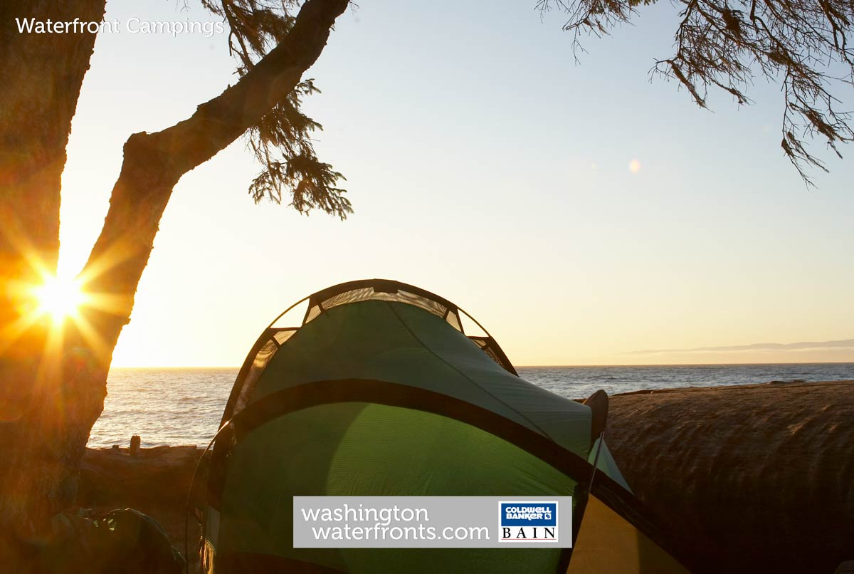 Waterfront Camping in Washington State