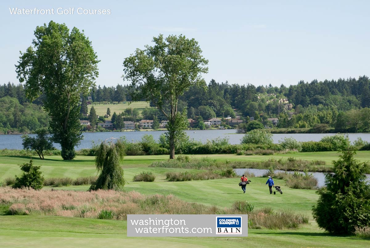 Waterfront Golf Courses in Washington State