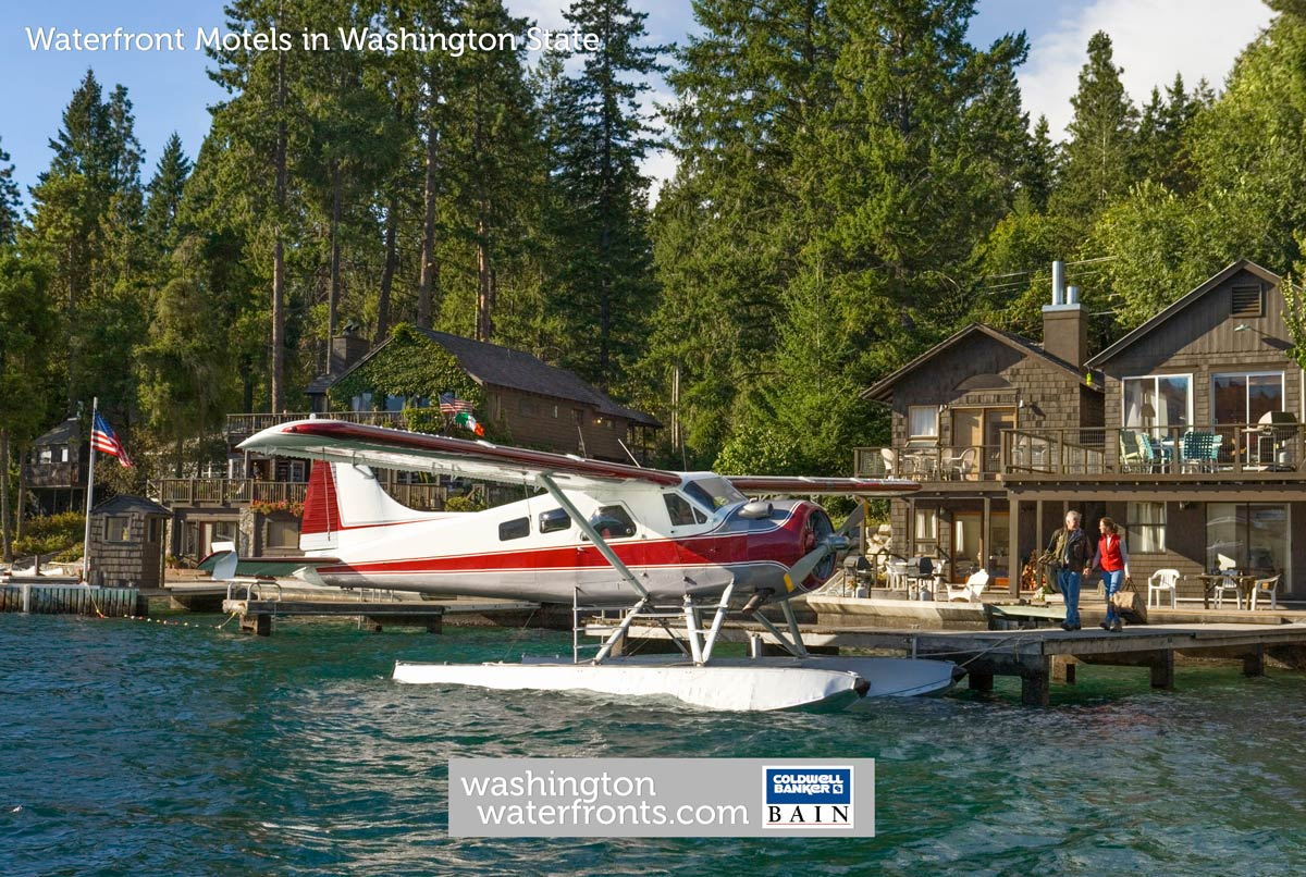 Waterfront Motels in Washington State