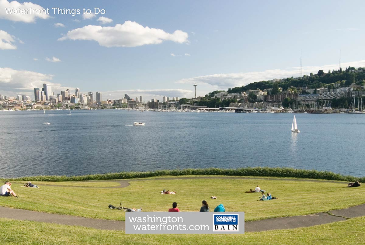 Waterfront Things to do in Washington State