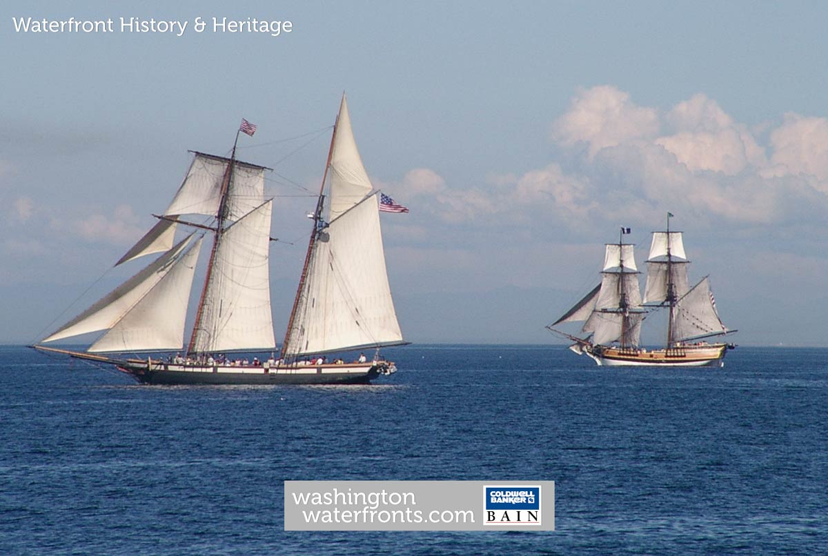 Waterfront History & Heritage in Washington State