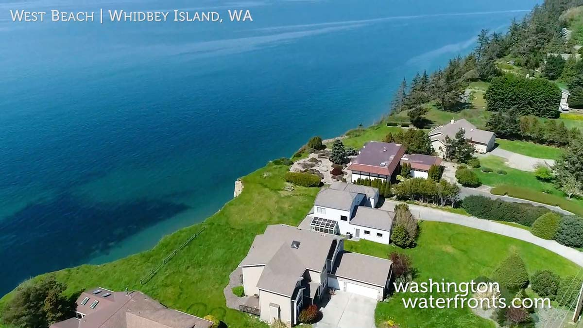 West Beach Waterfront Real Estate in Whidbey Island, WA