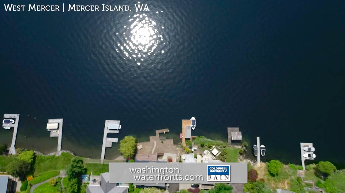 West Mercer Waterfront Real Estate in Mercer Island, WA