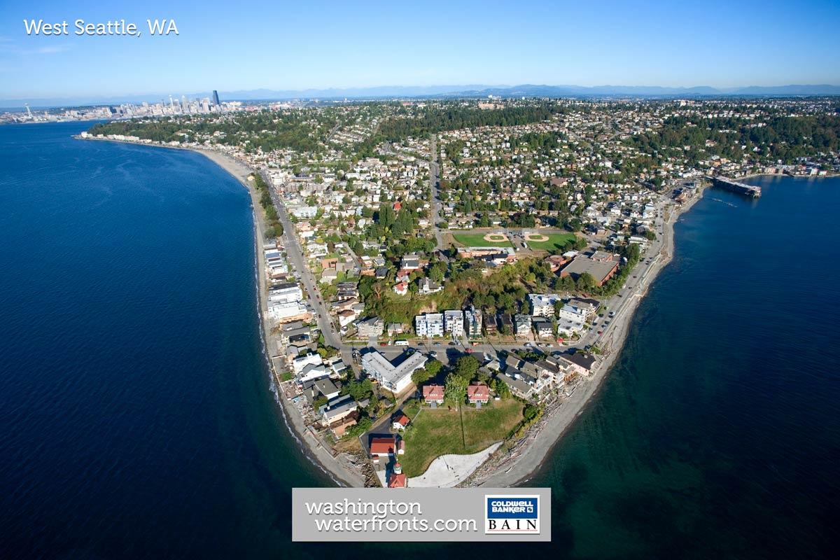 West Seattle Waterfront Real Estate in Seattle, WA