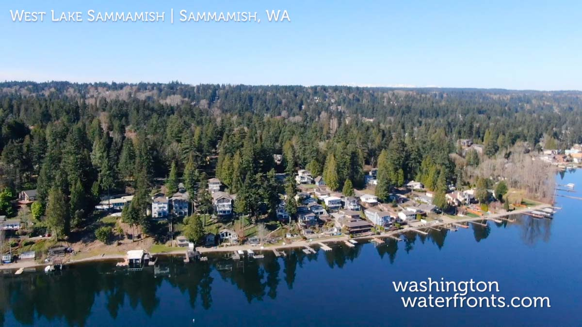 West Lake Sammamish Waterfront Real Estate