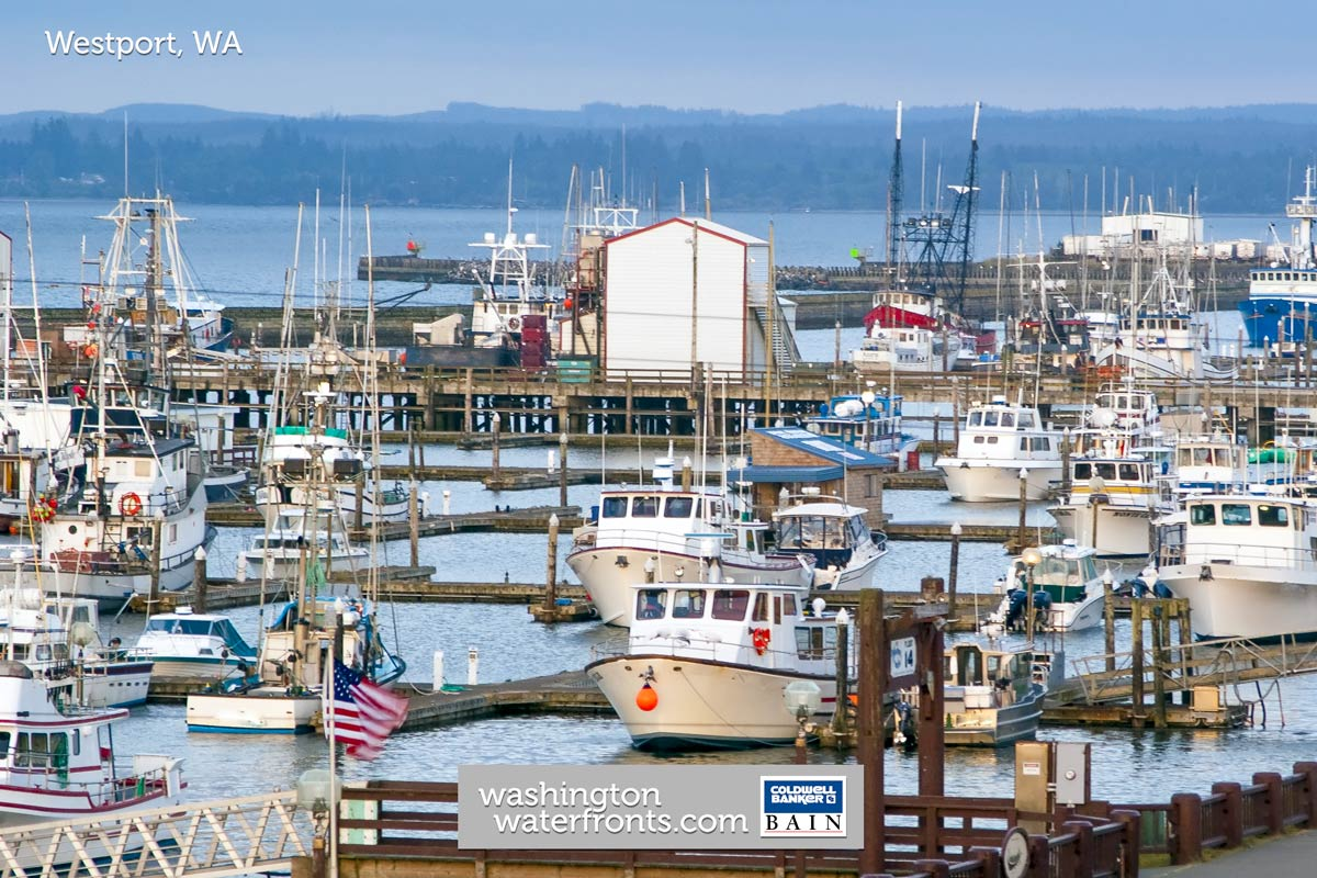 Westport Waterfront Real Estate in Westport, WA