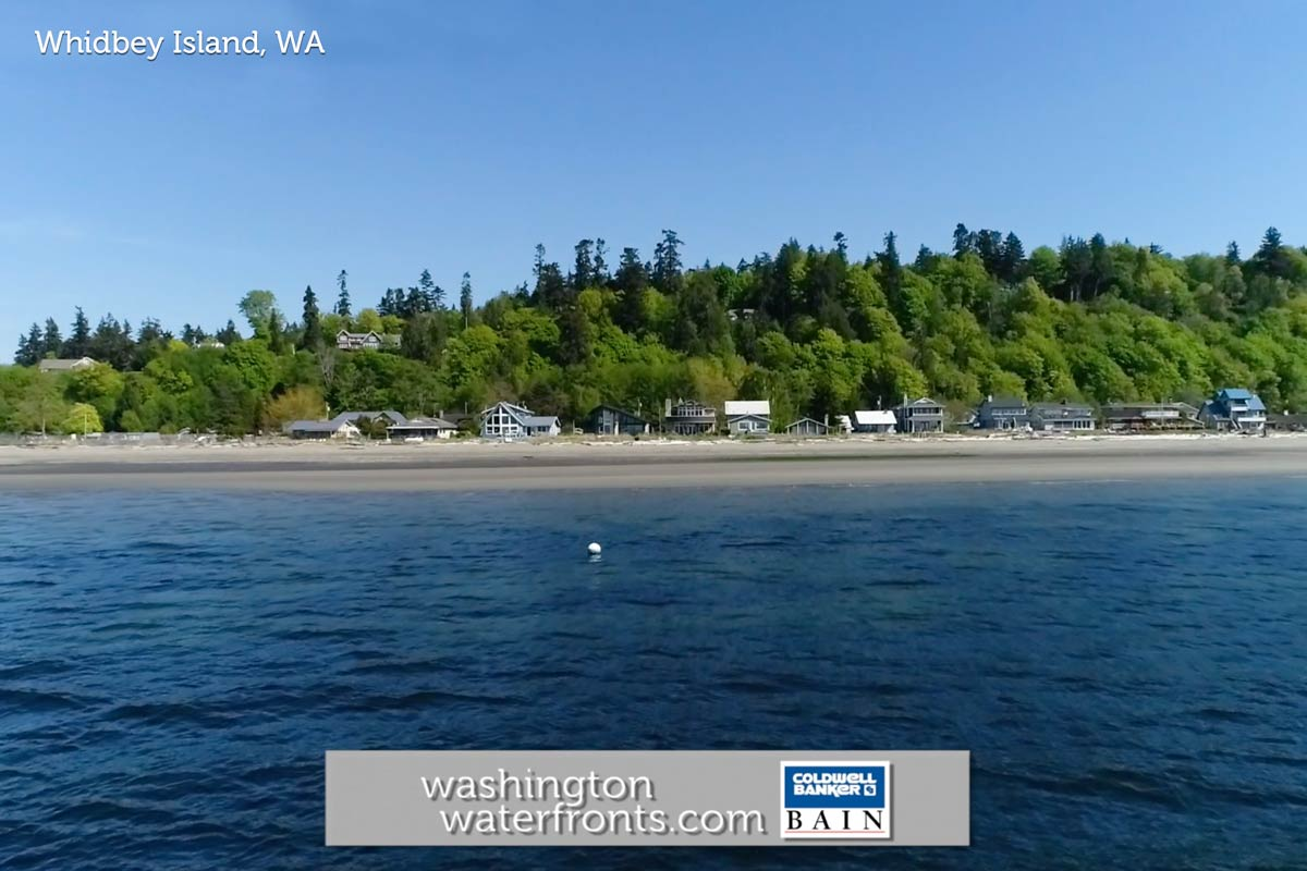 Whidbey Island Waterfront Real Estate in Whidbey Island, WA