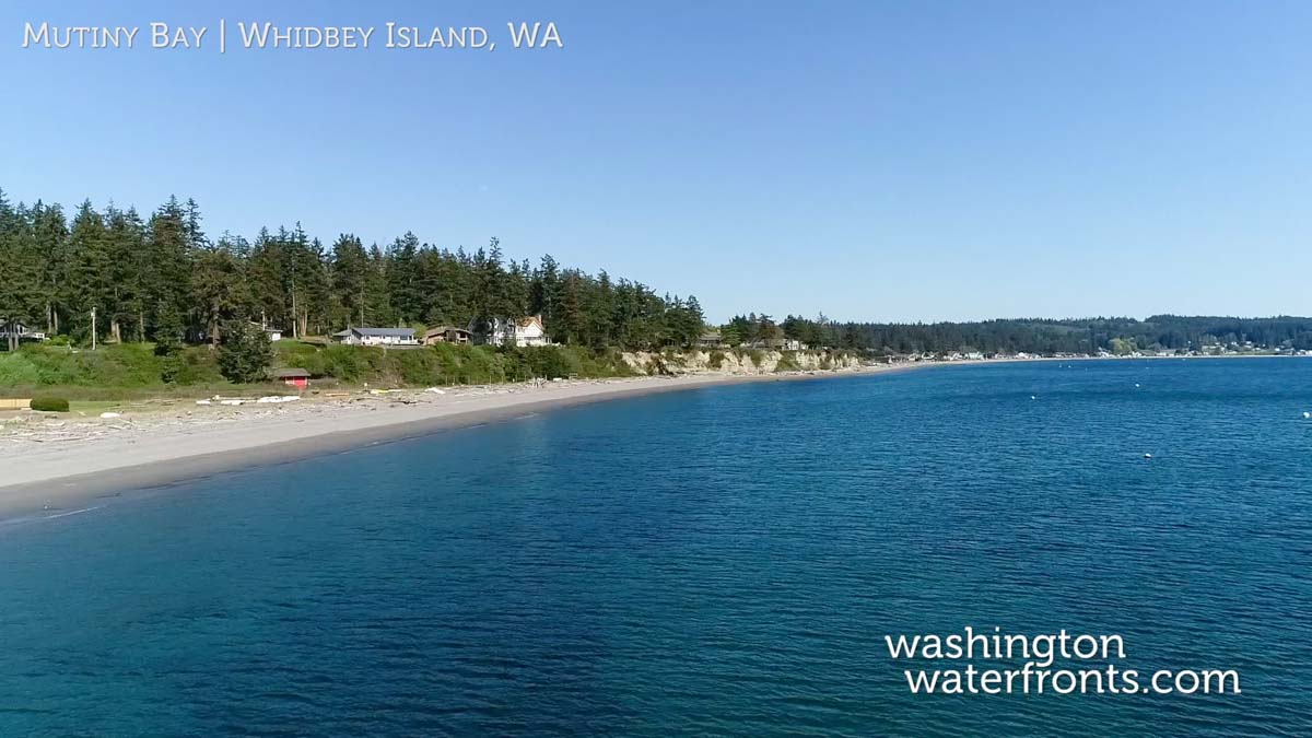 Whidbey Island Waterfront Real Estate