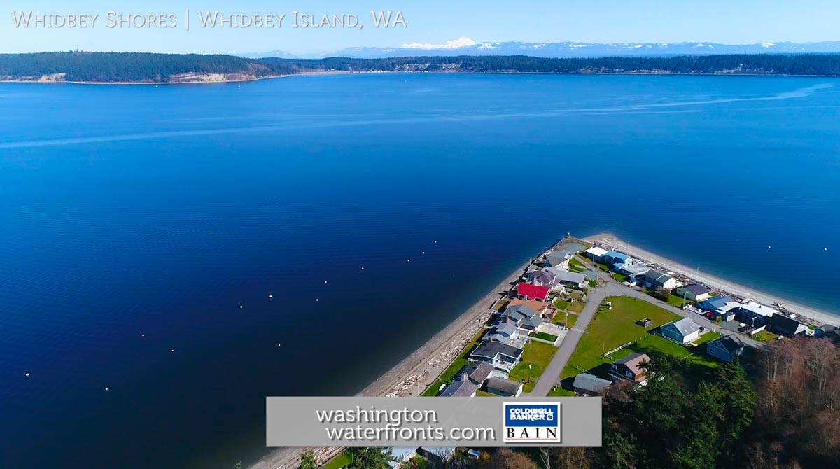 Whidbey Shores Waterfront Real Estate in Whidbey Island, WA