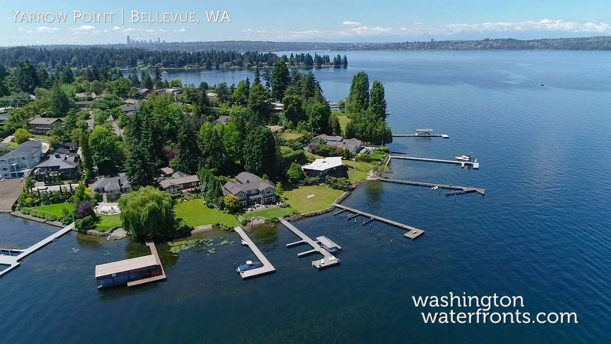 Yarrow Point Waterfront Real Estate in Bellevue, WA