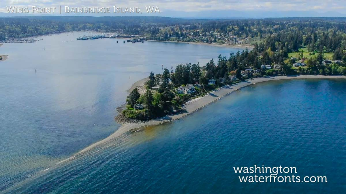 Bainbridge Island Waterfront Real Estate