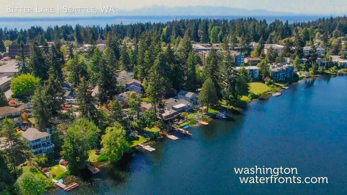 Bitter Lake Waterfront Real Estate