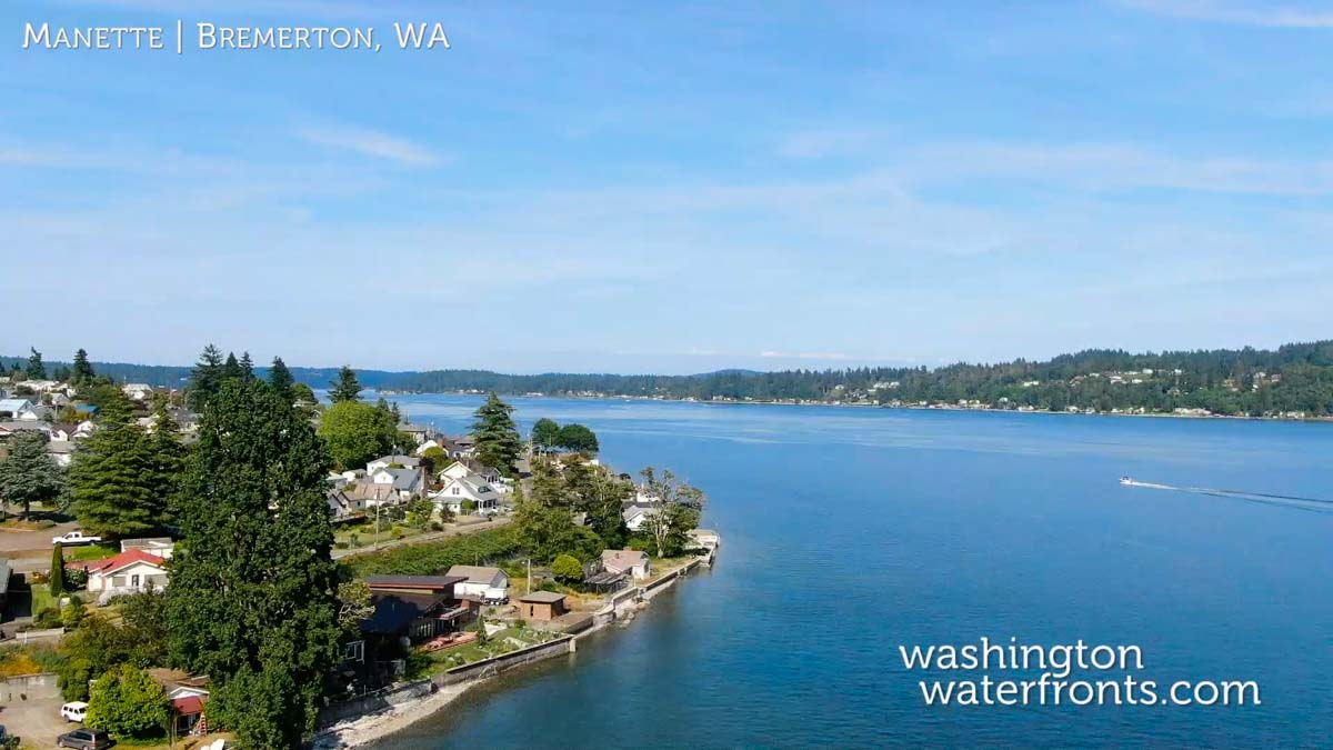 Bremerton Waterfront Real Estate