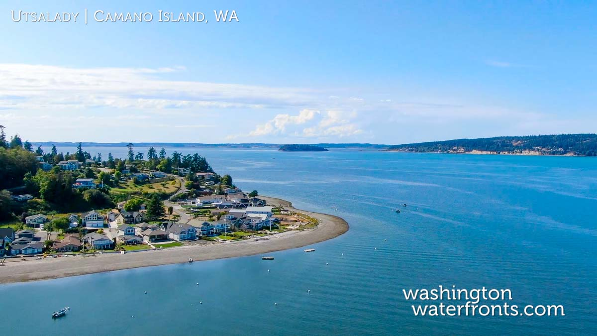 Camano Island Waterfront Real Estate