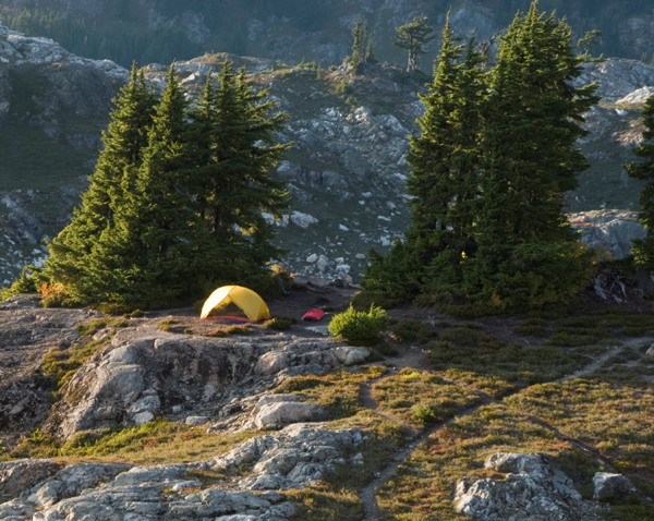 Olympic Mountains Camping