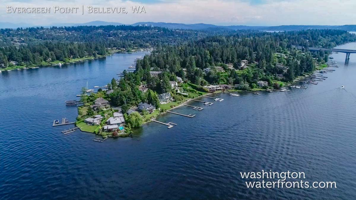 Evergreen Point Waterfront Real Estate