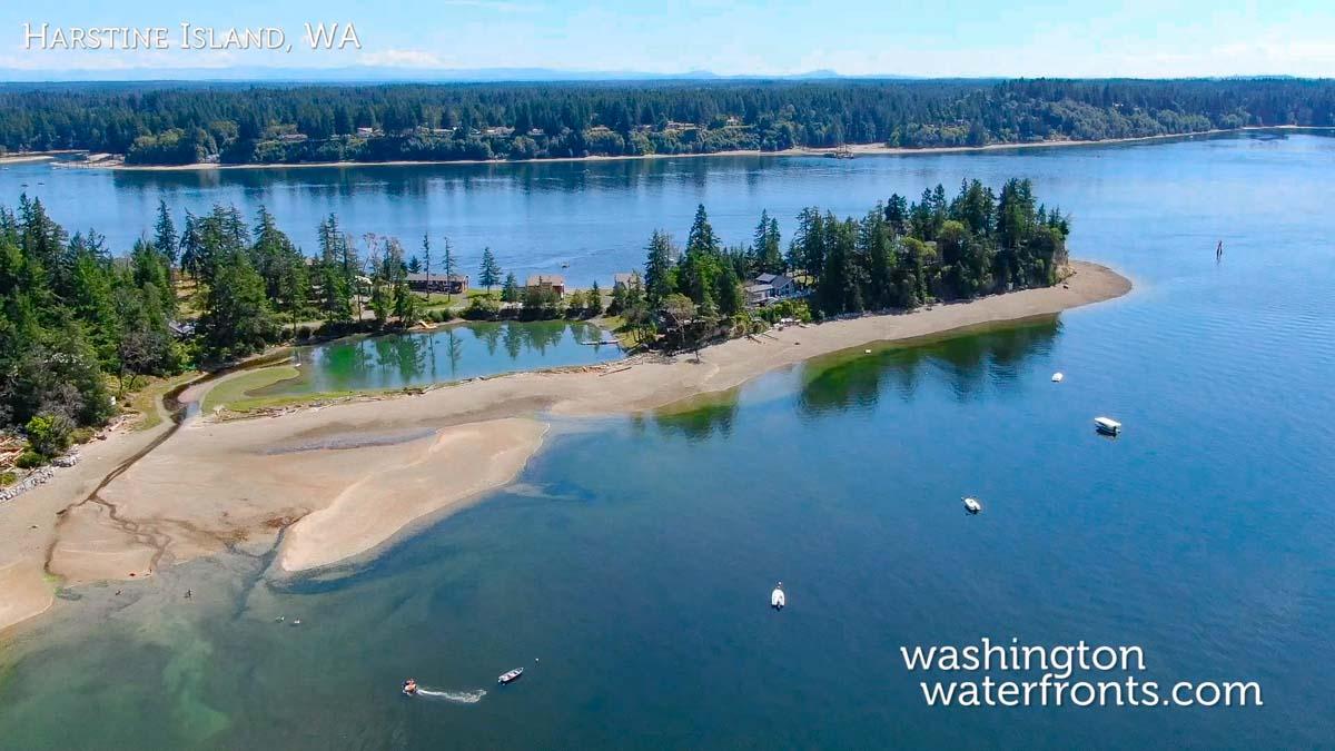 Harstine Island Waterfront Real Estate