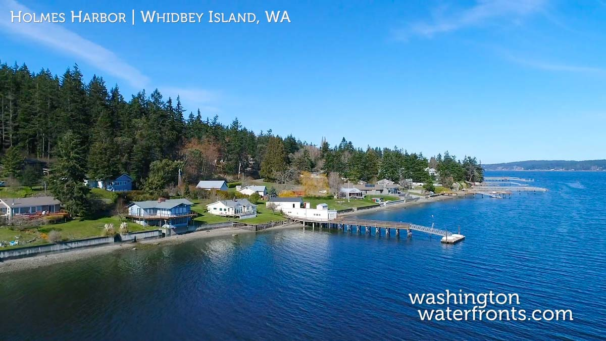 Holmes Harbor Waterfront Real Estate