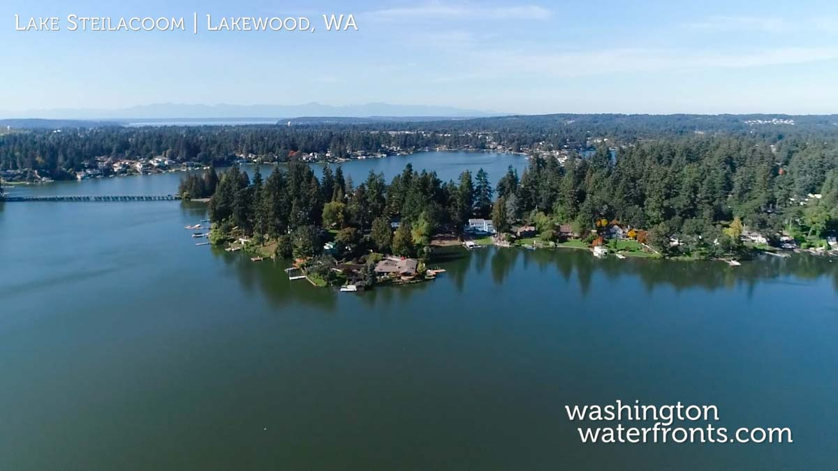 Lake Steilacoom Waterfront Real Estate
